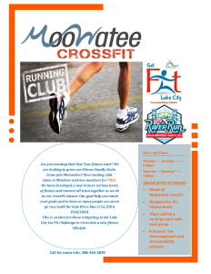 Running club flyer 2016